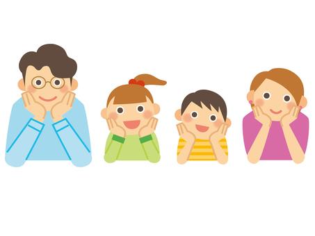 Family _ cheeks _ 2 households