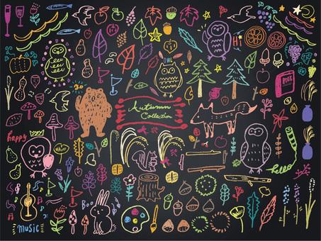 012 Chalkboard Art Autumn Collection