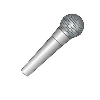 Microphone (silver)