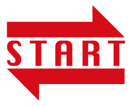 Start arrow _ Red