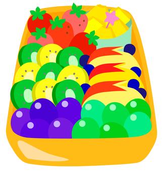 Lunch box (fruit)