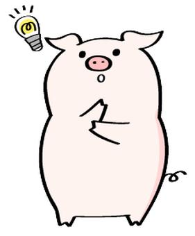 閃閃發光的豬Yoshi