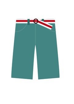 Shorts pants (light blue)