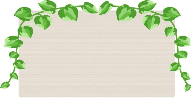 Green frame _ Potos 1