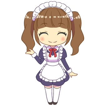 Maid's guide smile