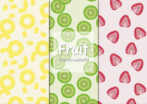Fruit background pattern material