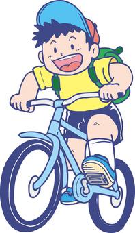 自行車和男孩