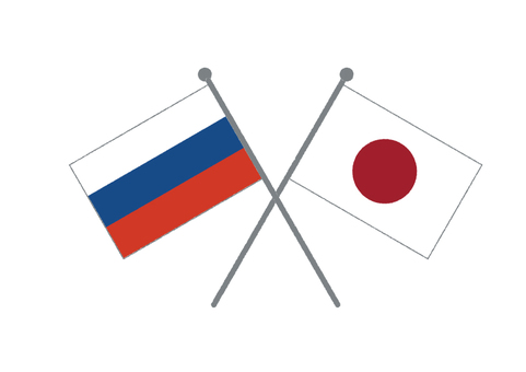 Flag (Japan & Russia)