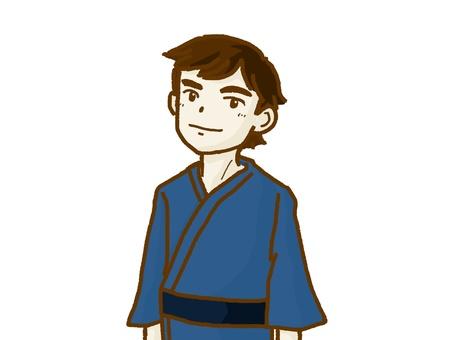 Yukata male.
