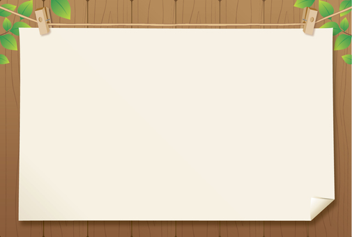 木框架(深褐色)