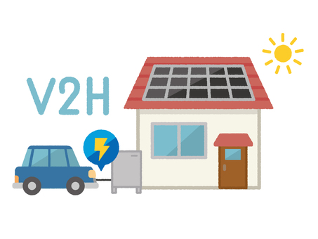 Electric cars and energy saving houses 2