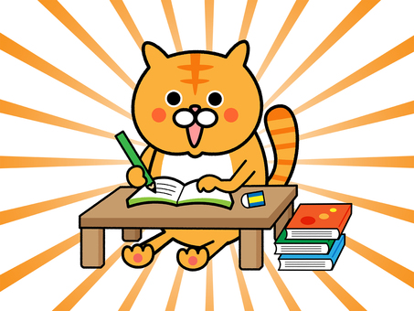 Cats that I learned about studying (concentration line)