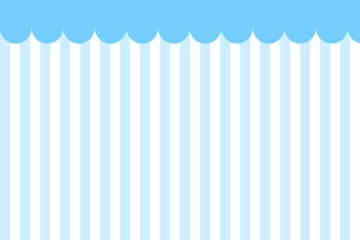 Awning style background Blue