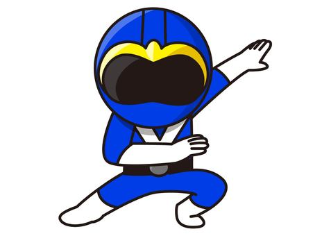 Blue Ranger - Transformation