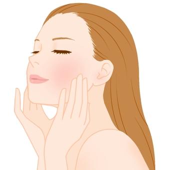 Facial esthetic effect
