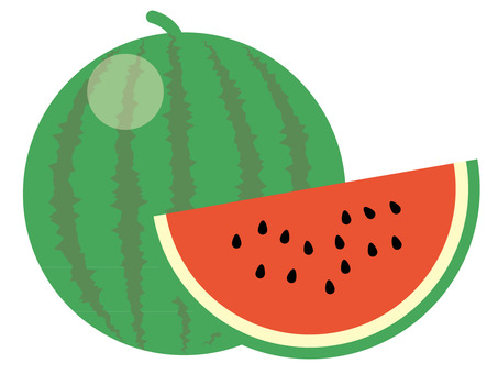 Simple watermelon