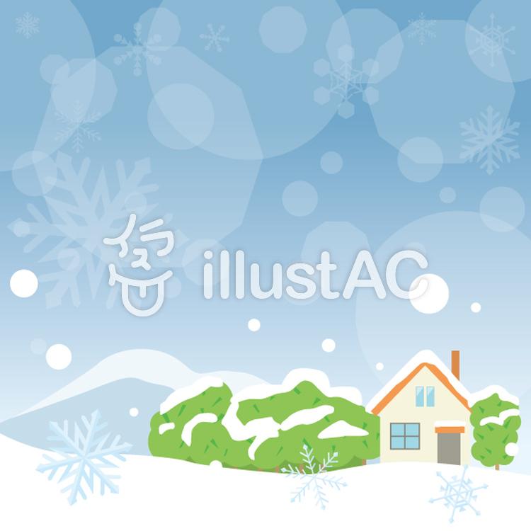 冬の風景イラスト No 554178無料イラストならイラストac