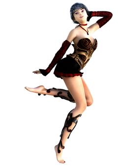 춤추는 미소녀