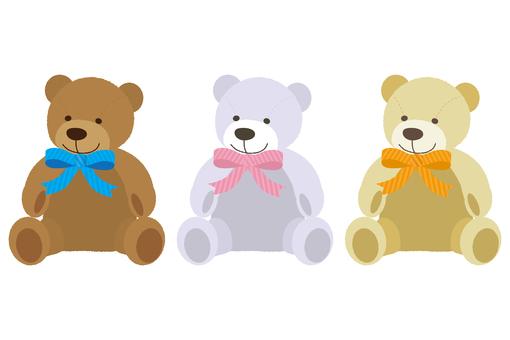 Miscellaneous goods 05 (Bear stuffed animal 01)