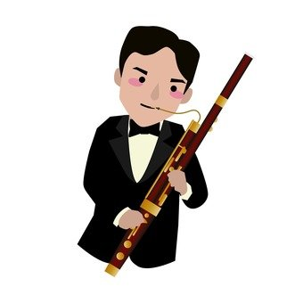 바순 연주자 남성