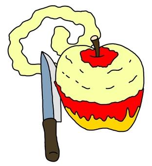 Lột vỏ táo