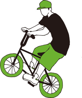 Bicycle (BMX rider / silhouette)