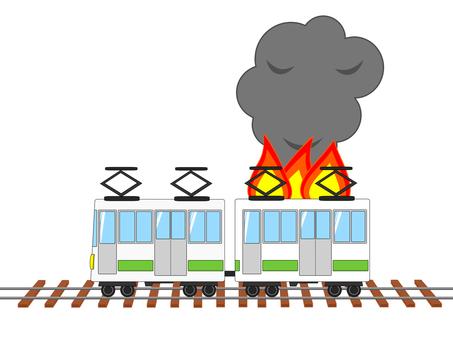 열차 화재 화재