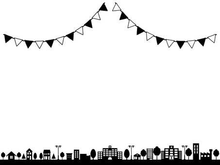City Line with Garland
