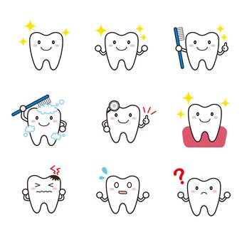 치아 세트