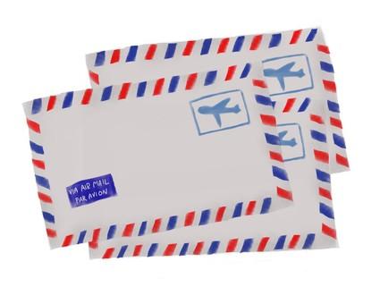 Cut air mail