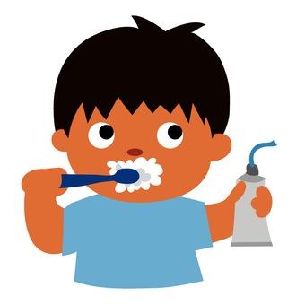 歯磨き粉出し過ぎ