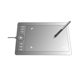 Pen tablet (silver)