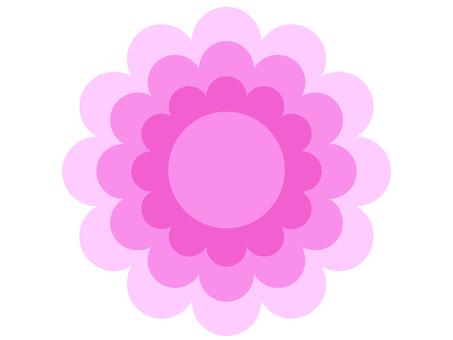 花型(粉紅色)