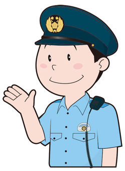Male policeman (summer clothes)