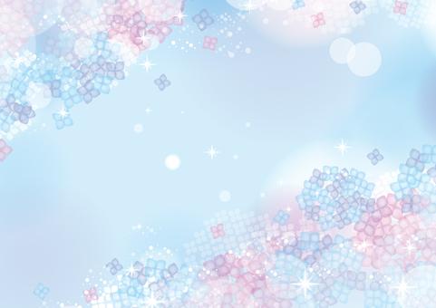 수국의 환상적인 프레임 01