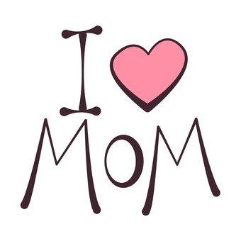愛你的媽媽標誌