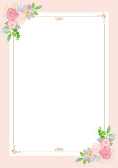 花装饰框架A 4