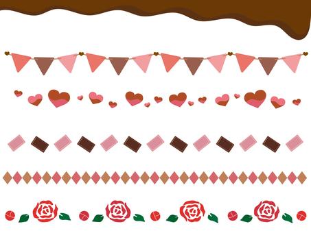 발렌타인 라인 소재 1