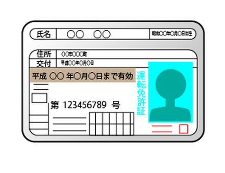 Identification card - License