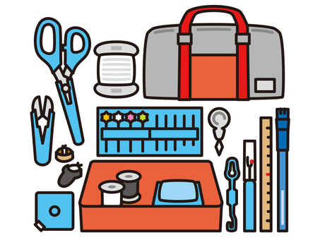 Sewing Set Home Economics