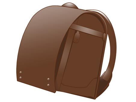 School bag (brown)