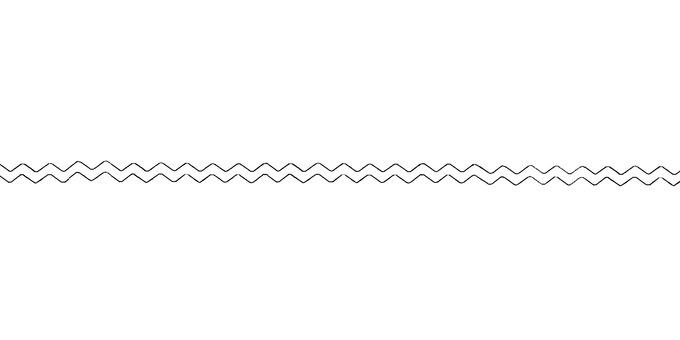Simple wavy line