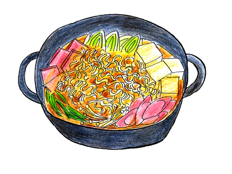 Pudechige (Korean ramen pot)