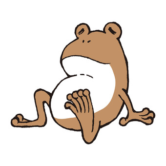 Frog resting that part 5