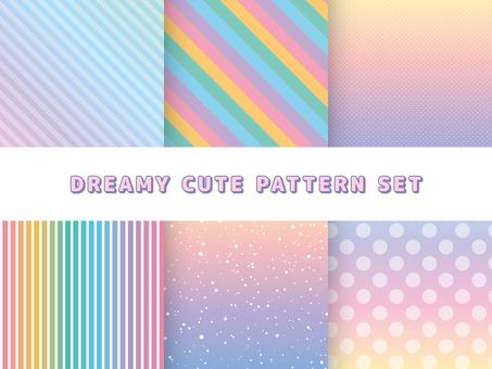 Dream cute pattern set
