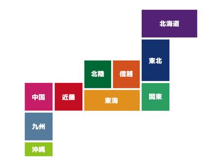 Japan Map 13