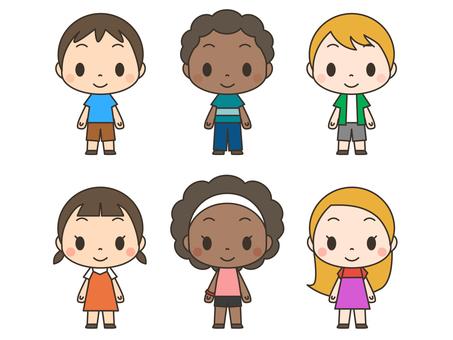 Multinational children 01