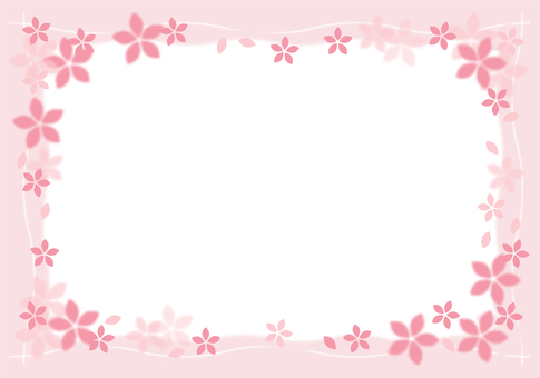 Cherry Blossoms Card 03