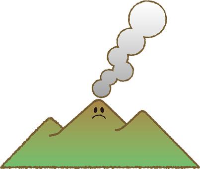 Mt. Kirishima erupting