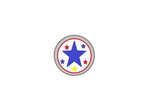 Badge j